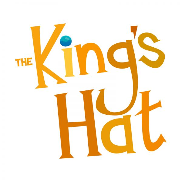 The King's Hat lettering