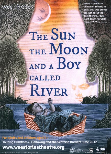 The Moon and A Boy Called River