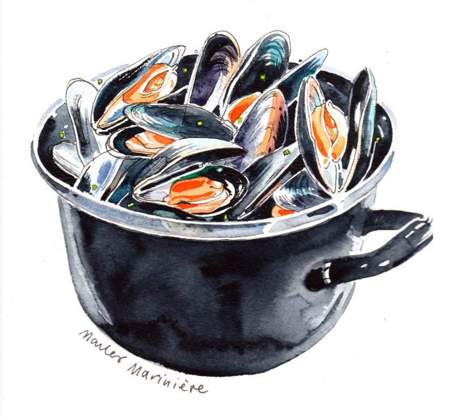 The mussels from Brussels