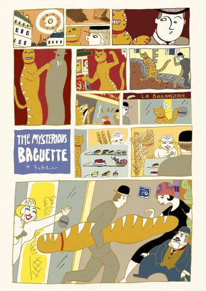 The Mysterious Baguette by Satoshi Kambayashi