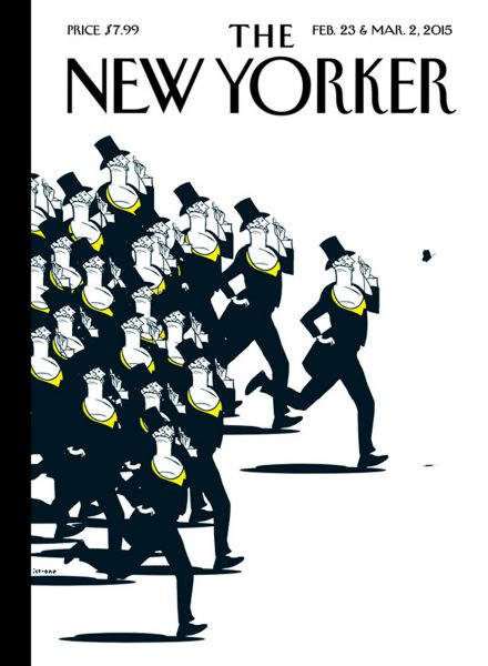 The New Yorker 90th Anniversary Cover