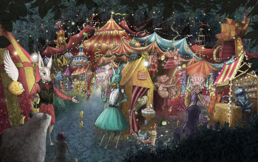 The Night Circus, part of the Juniper Exhibition
