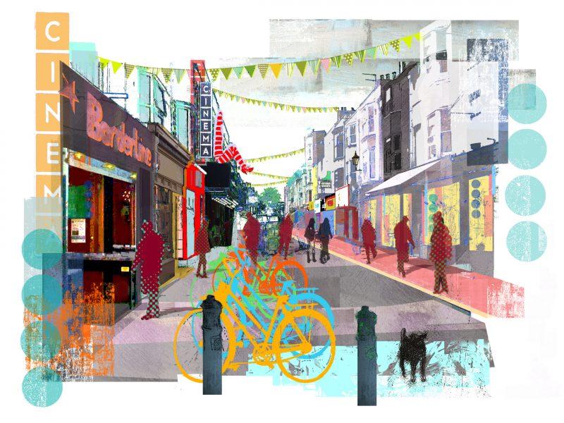 The North Laine Brighton