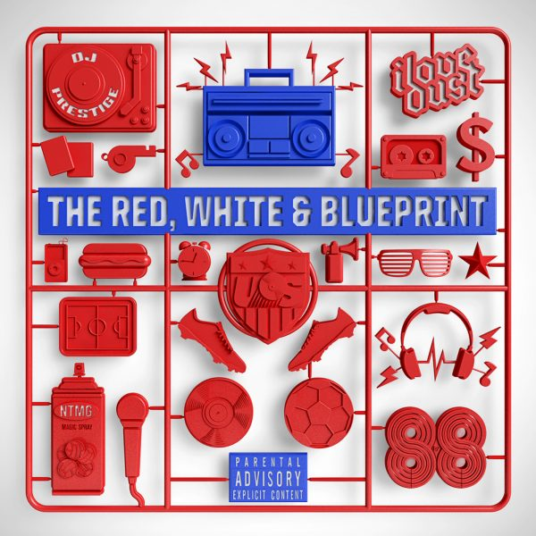 The Red, White and Blueprint Model Kit