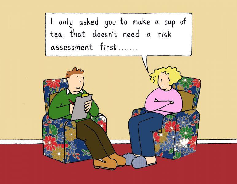 The risk assessment.