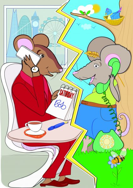 The Story Mouse App - Town Mouse And The County Mouse