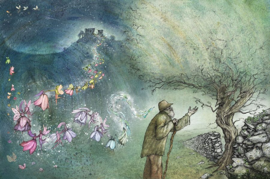 The Wicked Hawthorn Tree, from The Moon Spun Round: W. B. Yeats for Children