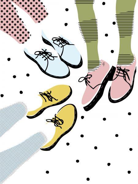 Three pairs