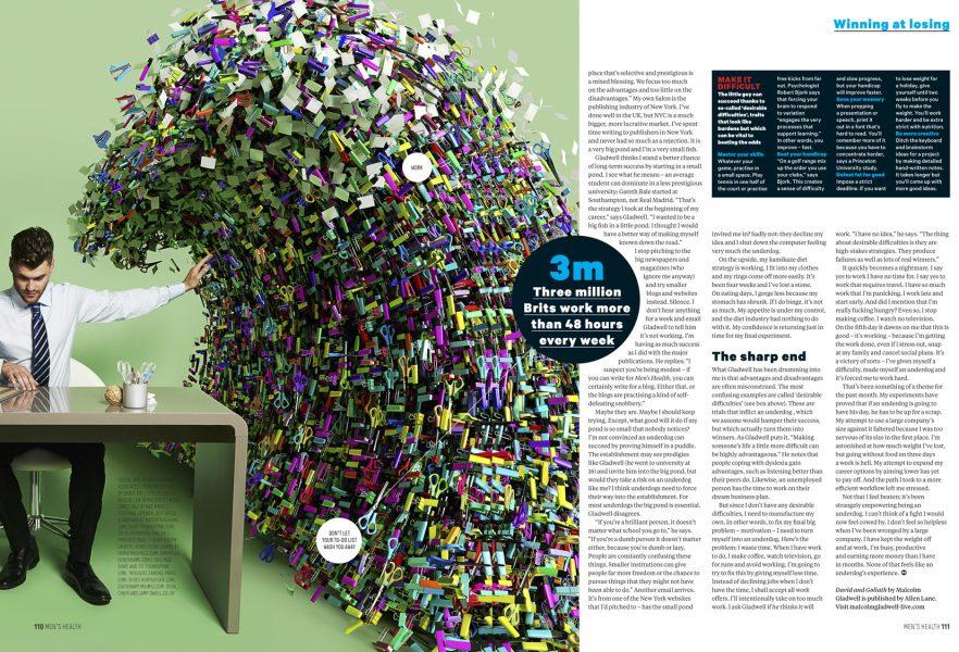Tidal Wave Office Clutter / Men's Health Magazine
