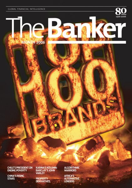 Top 100 Brands / The Banker