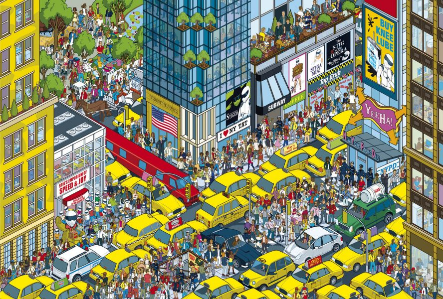 Top Gear Where's Stig? New York