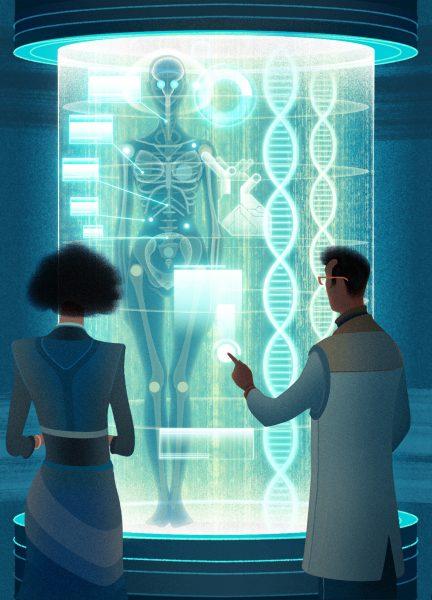 Transhumanism DNA Screening