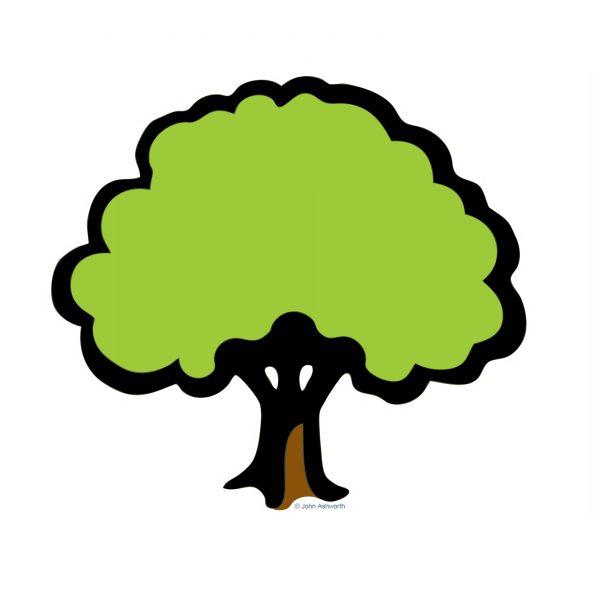 John Ashworth Tree Nature Environment Garden Botanical Health Landscape Logo Brand Icon Symbol