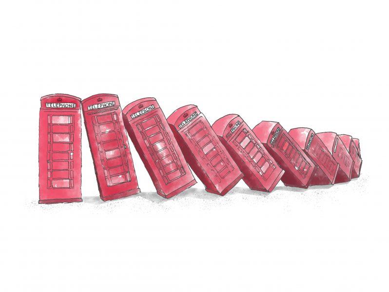 Tumbling Telephones