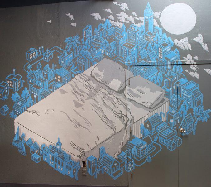 Urban Mattress Mural