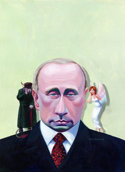 Vladimir Putin Good / Evil