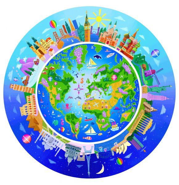 Voyage of Discovery - Globe Jigsaw
