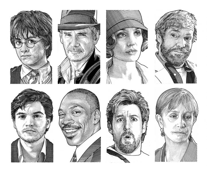 Wall Street Journal Hedcuts 1
