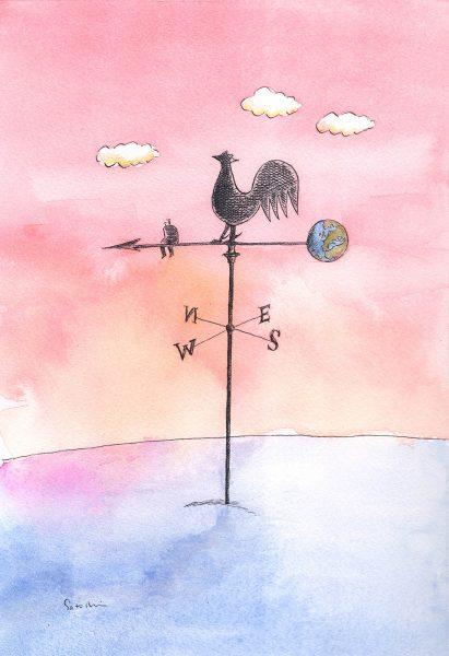 Weather Vane by Satoshi Kambayashi