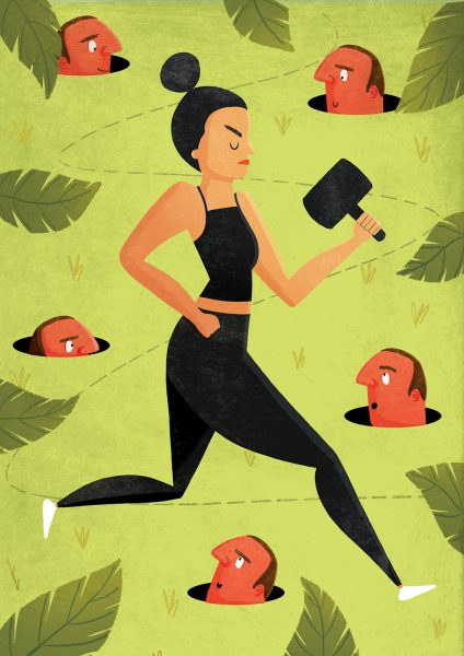 Why do women get so much grief when they run?