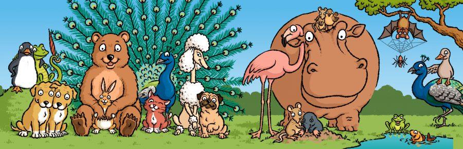 Wir Freunde - children's book for Monterosa Verlag