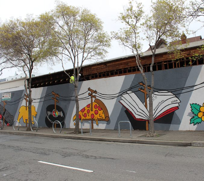 Wired Mural