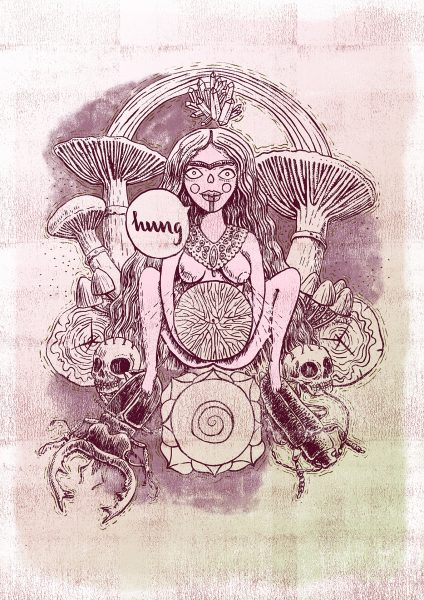 Witches of the Nine Worlds - Earth Star Chakra