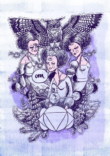 Witches of the Nine Worlds - Third Eye Chakra