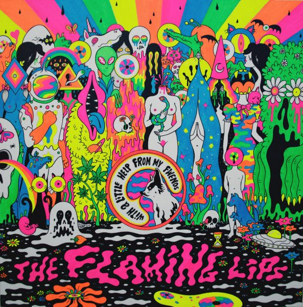 With A Little Help from My Fwends Inside Sleeve / The Flaming Lips