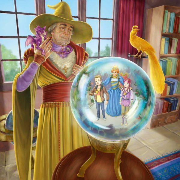 Wizard at Crystal Ball