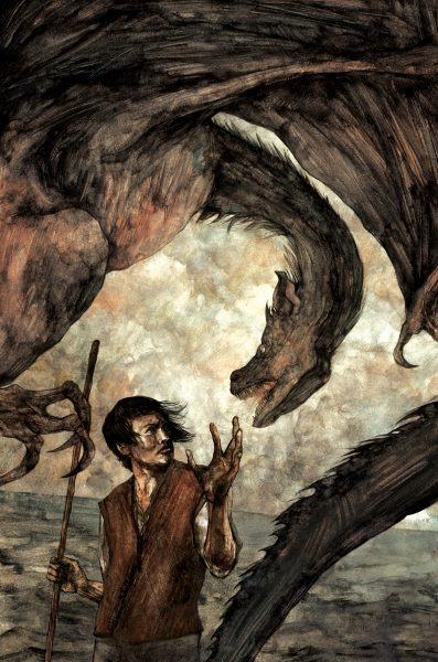 A Wizard of Earthsea illustration