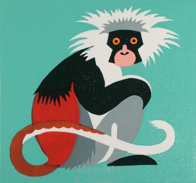 Zany Zanzibar Monkey