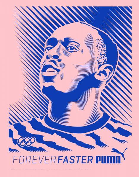 Puma Forever Faster Usain Bolt