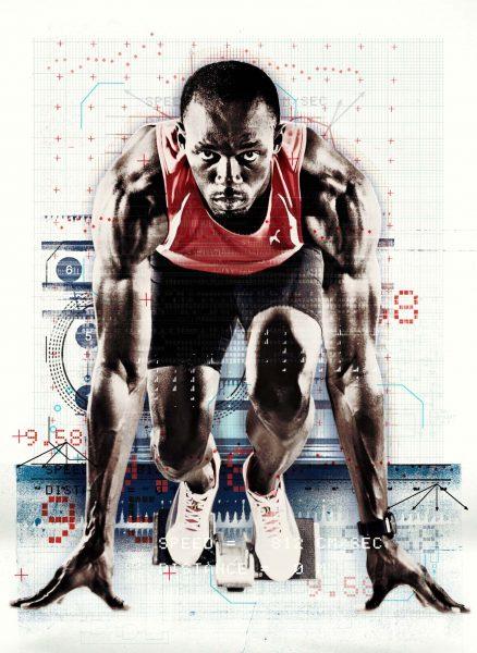 Red: Usain Bolt Original