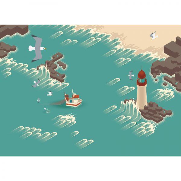 seaside infographic