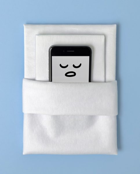 Sleepy iPhone / Health Magazine