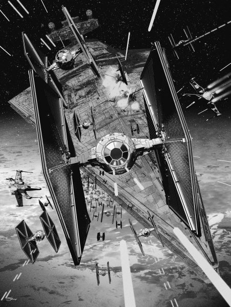 Star Wars TIE Fighter Defence